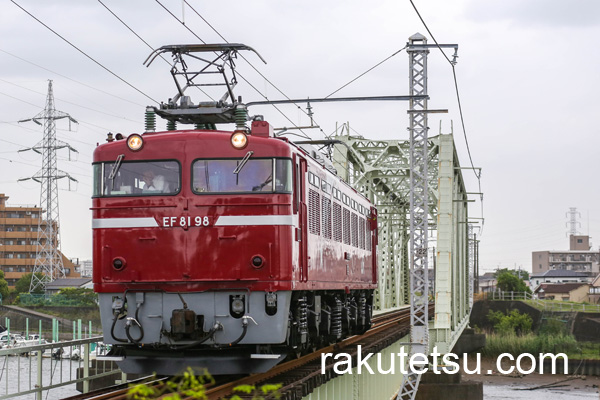 EF81-98単機送り込み